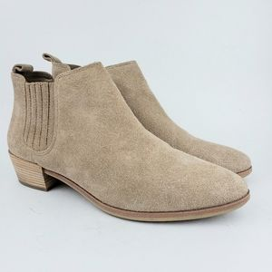 Michael Kors Tan Leather Ankle Boots Booti…